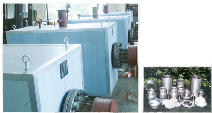 联苯炉、卷绕头、螺杆、组件